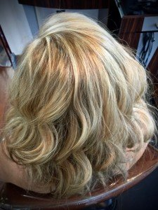 Blonde hair color hair salon in Irmo Columbia SC