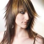 brunette-hilights