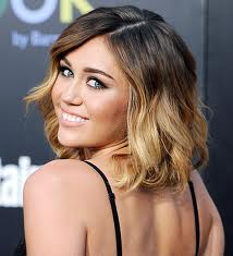 Ombre Color miley cyrus