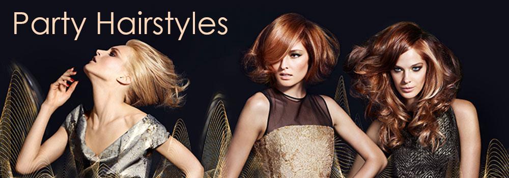 Christmas Party-Hairstyles Gore hair salon Irmo Columbia SC