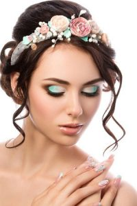 Up Do Hairstyle Bridal 123