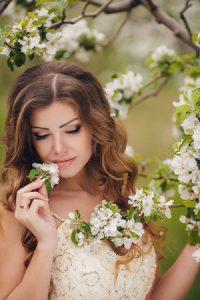 Wedding Bridal Long Hair 123