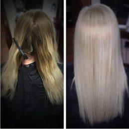 ice blonde platinum blonde columbia SC at Gore Salon