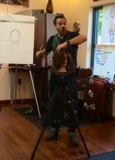 Brayden Pelltier Class at Gore Salon