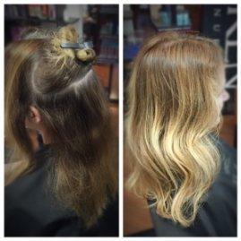 blonde highlights columbia SC at Gore Salon