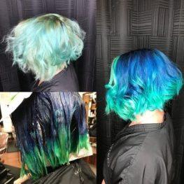 mermaid hair columbia SC at Gore Salon