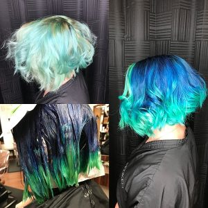 mermaid hair columbia SC at Gore Salon
