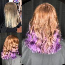 purple hair columbia SC at Gore Salon