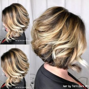 blonde highlights columbia SC at Gore Salon