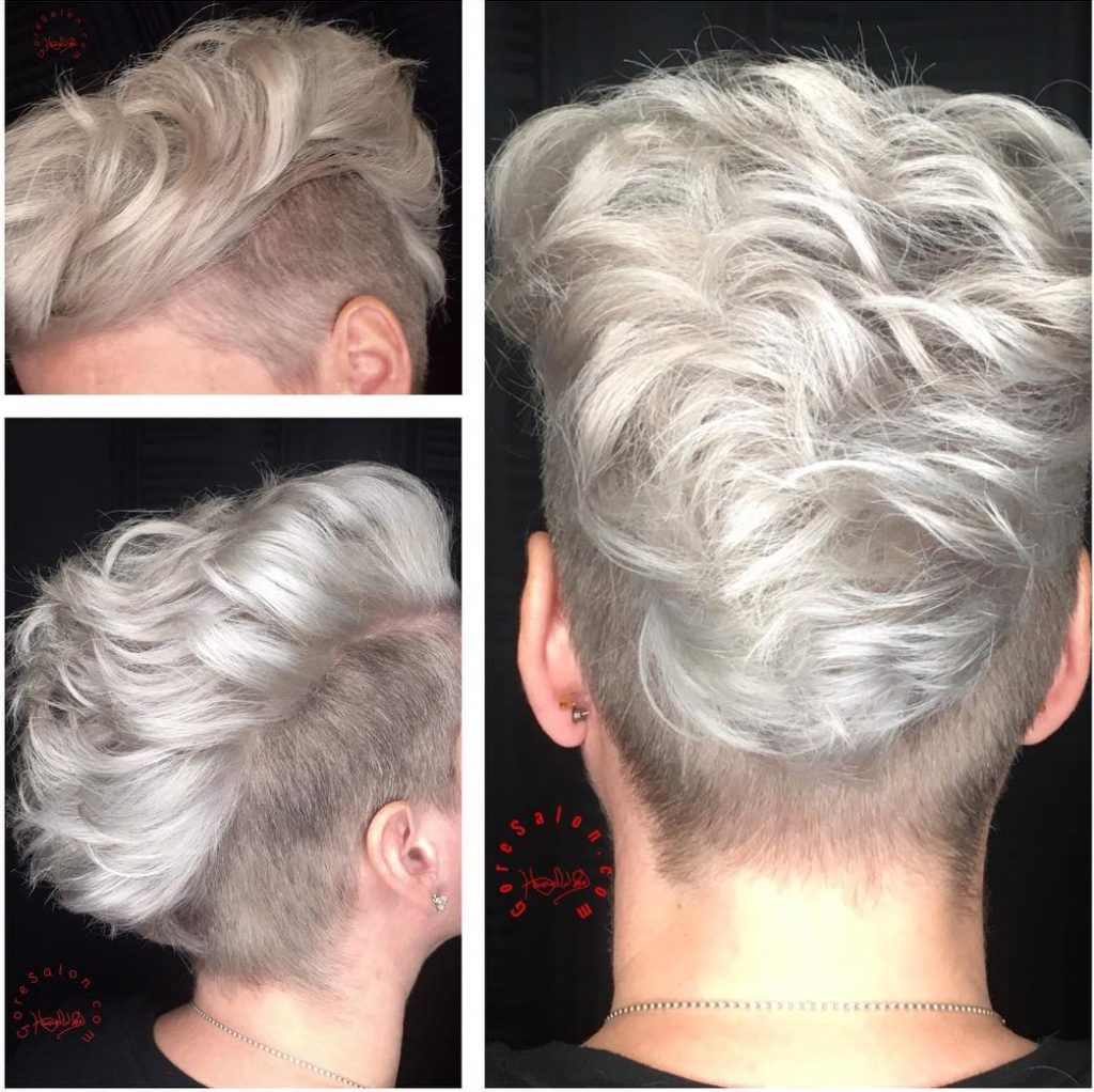 ice blonde platinum blonde columbia SC at Gore Salon
