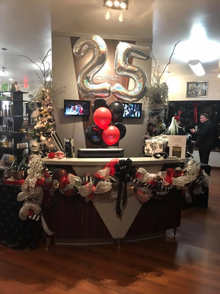 Gore Salon Celebrates 25 Years of Beauty