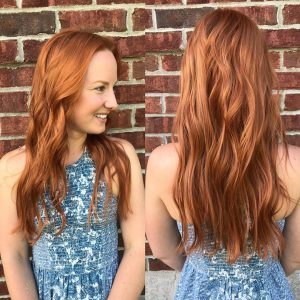 Copper hair color Columbia SC at Gore Salon