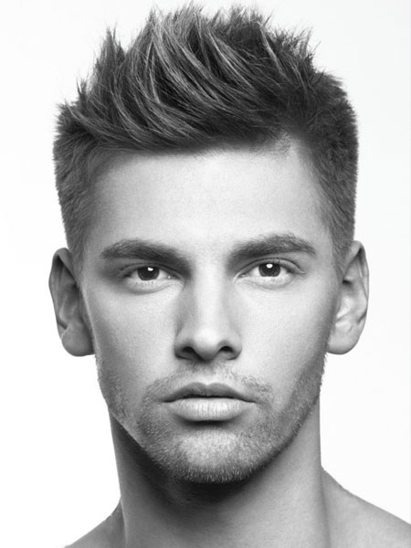 Hair Trends 2014 Mens Choppy Style Short Back And Sides