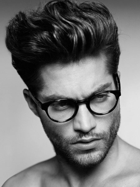 Hairstyle Ideas 2014 Style Mens Hair Wavy Short Back And