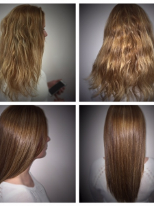 hair transformation Lauren Gore Salon
