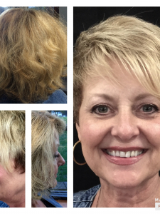 Before and After Corinne by Howard at Gore Salon