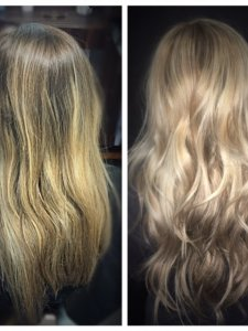 blonde correction at Gore by Lauren