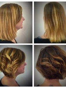 hair cut and color Lauren at Gore Salon