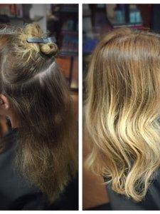 ombre hair Lauren at Gore Salon