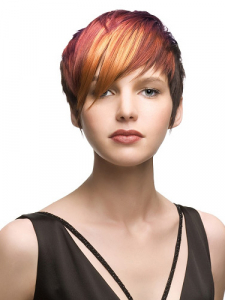 ladies-hairstyle-colour-cut-short-new-year