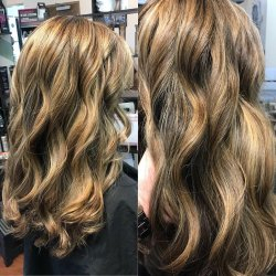 brunette-hair-with-highlights